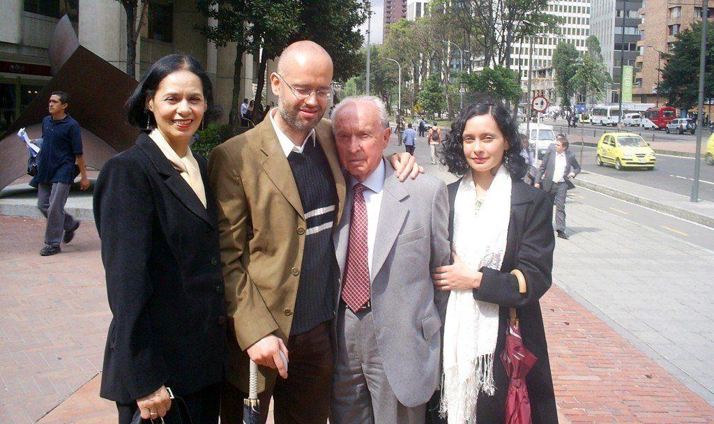 Carlota, Carlos Alberto, Carlín y Patricia
