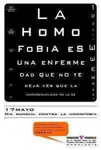 Campaña de Fundación Triángulo para el Día Mundial contra la Homofobia.